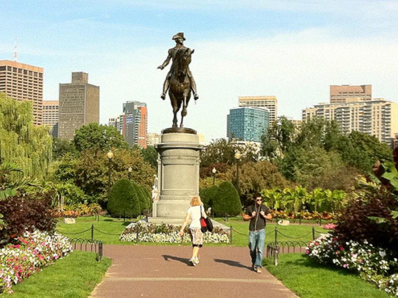Boston Public Garden Sept 11 - 05